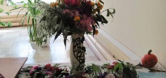 Виставка квіткових композицій