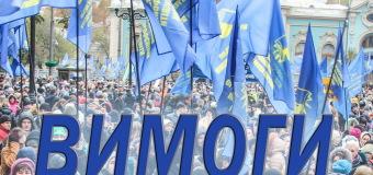 Галузеві вимоги Профспілки до влади