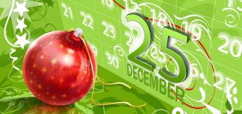 Відтепер 25 грудня – вихідний день