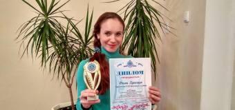 """Вітання призеру обласного фестивалю-конкурсу """"Творю для тебе, рідна Батьківщино!"""""""