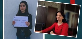 Наша учениця – фіналістка Всеукраїнського конкурсу